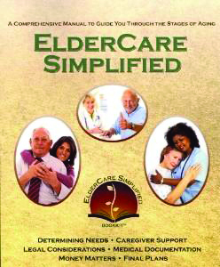 Mom Schillinger - B7ElderCare Book